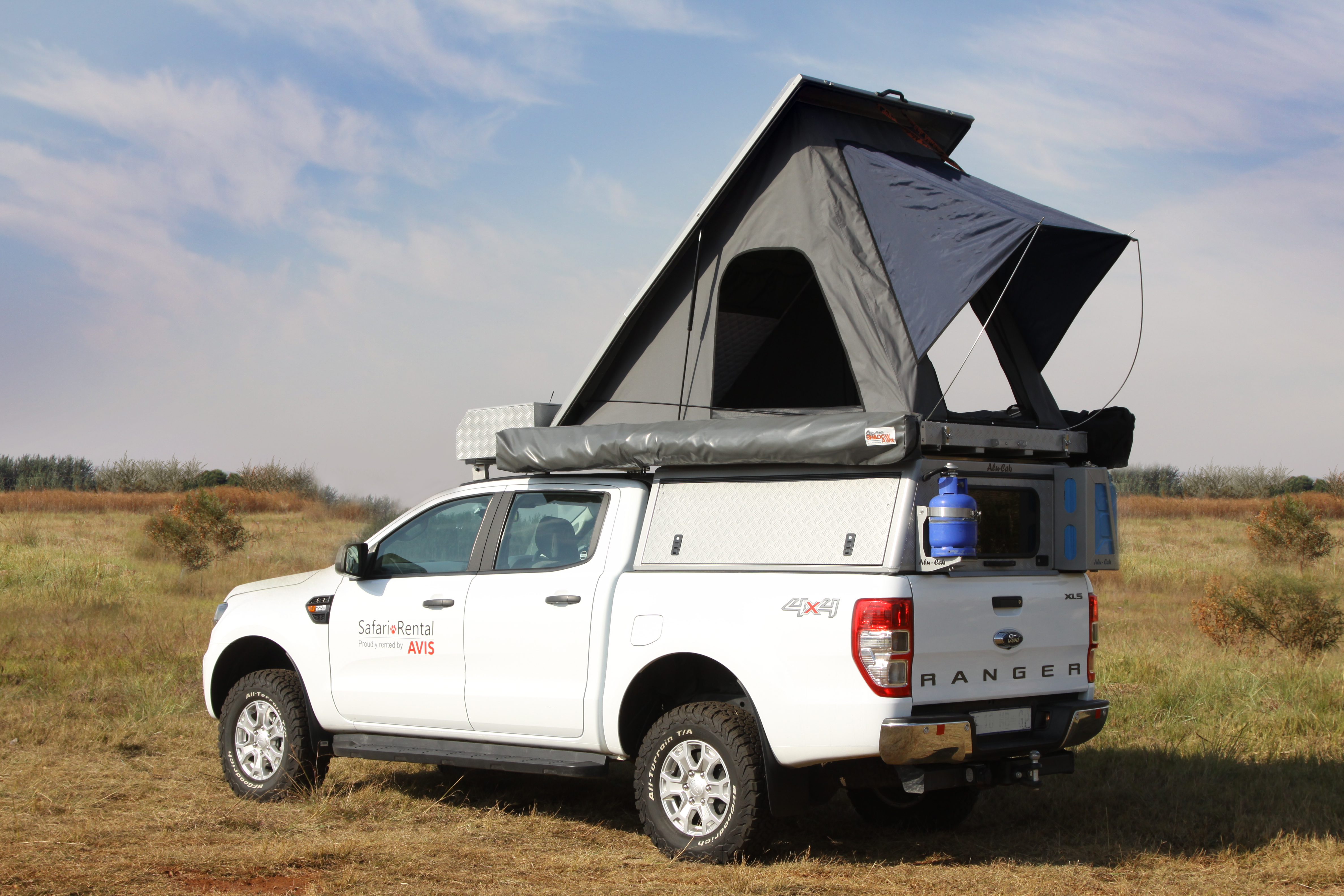 Rent A Ford Ranger Double Cab Luxury Safari Overlander